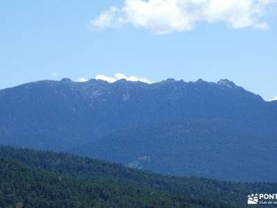 Chorranca y Silla del Rey, Cerro del Moño de la Tía Andrea;ropa de montaña mapa comunidad de madrid